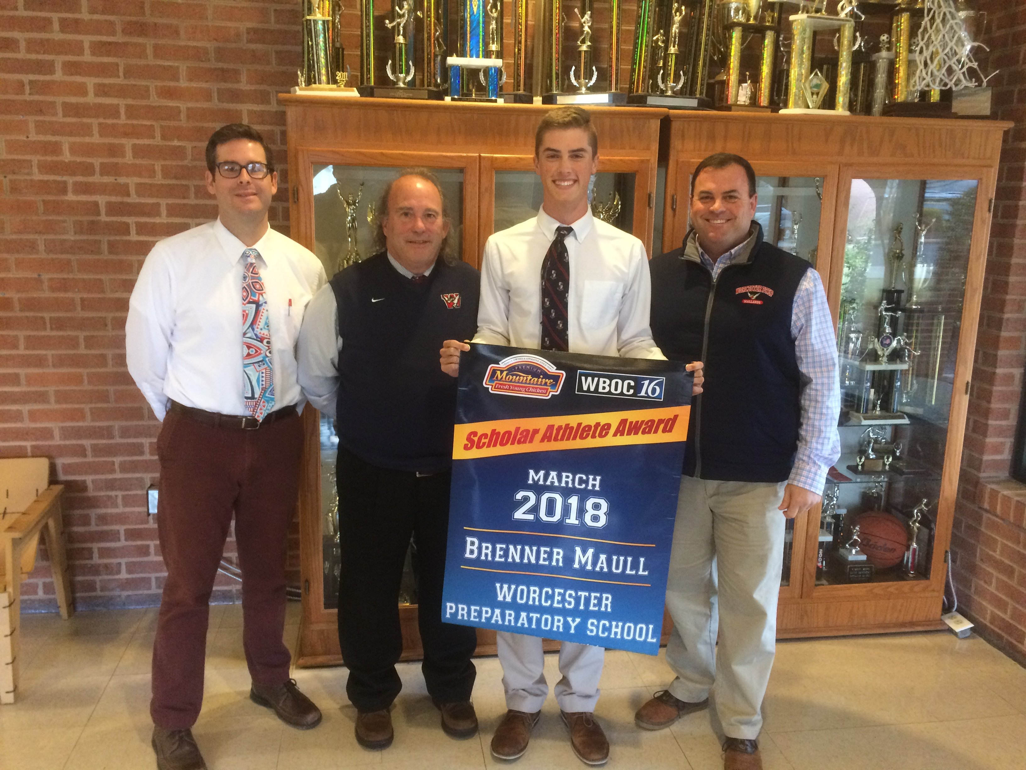 WBOC Mountaire Farms March Scholar Athlete of the Month – Brenner Maull of Worcester Prep
