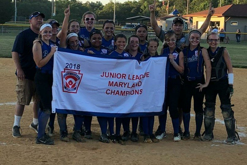 Berlin Junior Softball Continues Their Historic Postseason Run