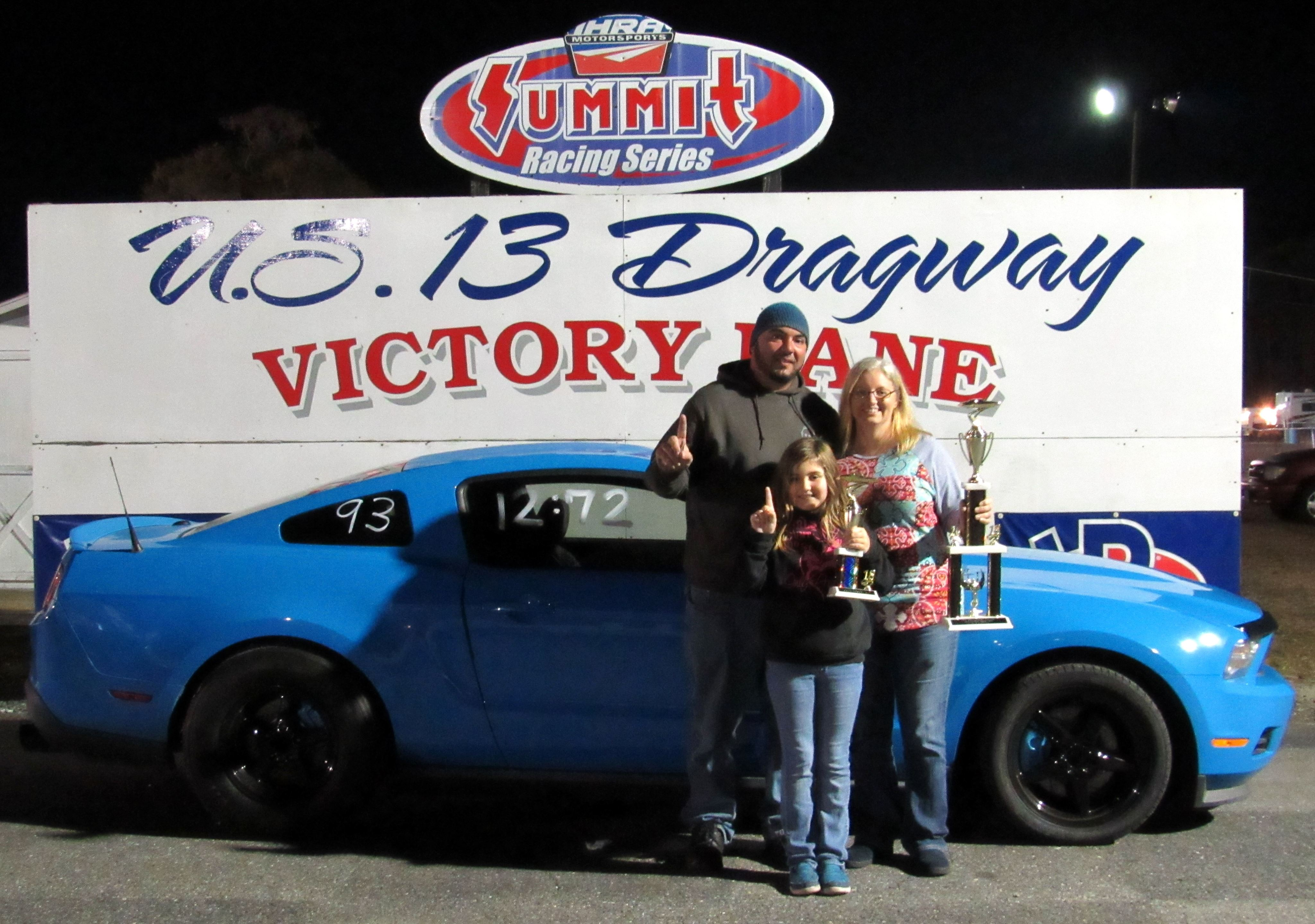 U.S. 13 Dragway Report – Monday November 5, 2018