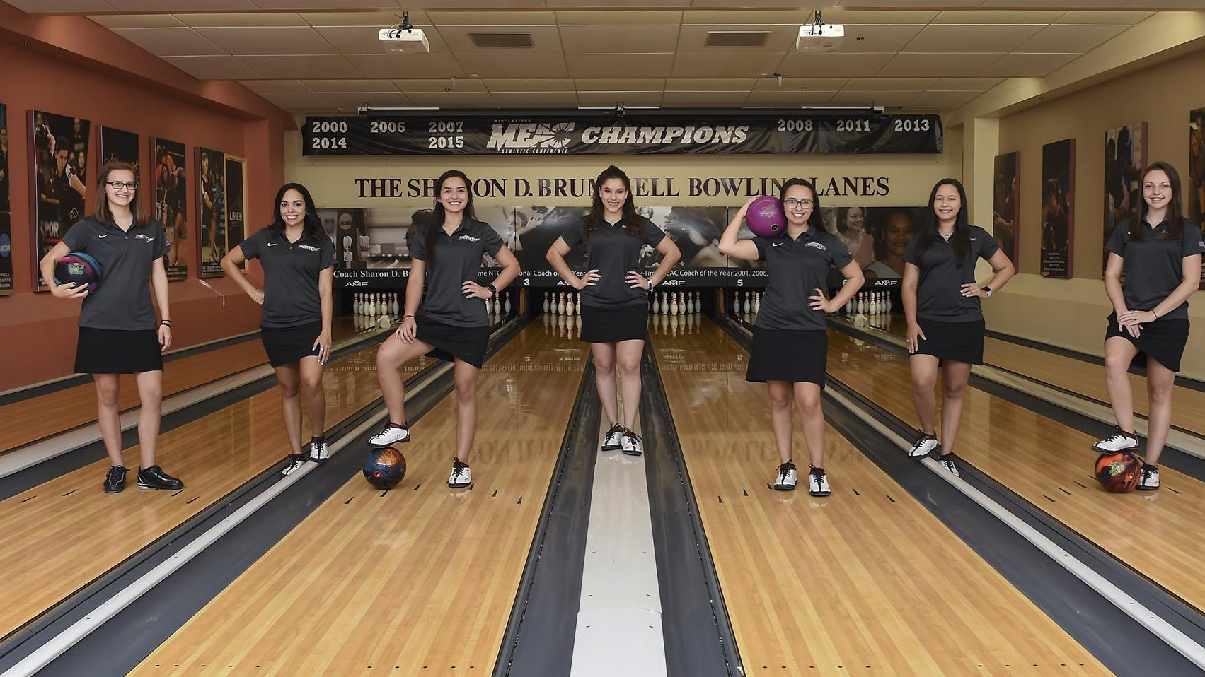 Hawks Women's Bowling Team Finishes Second at Opening MEAC Meet