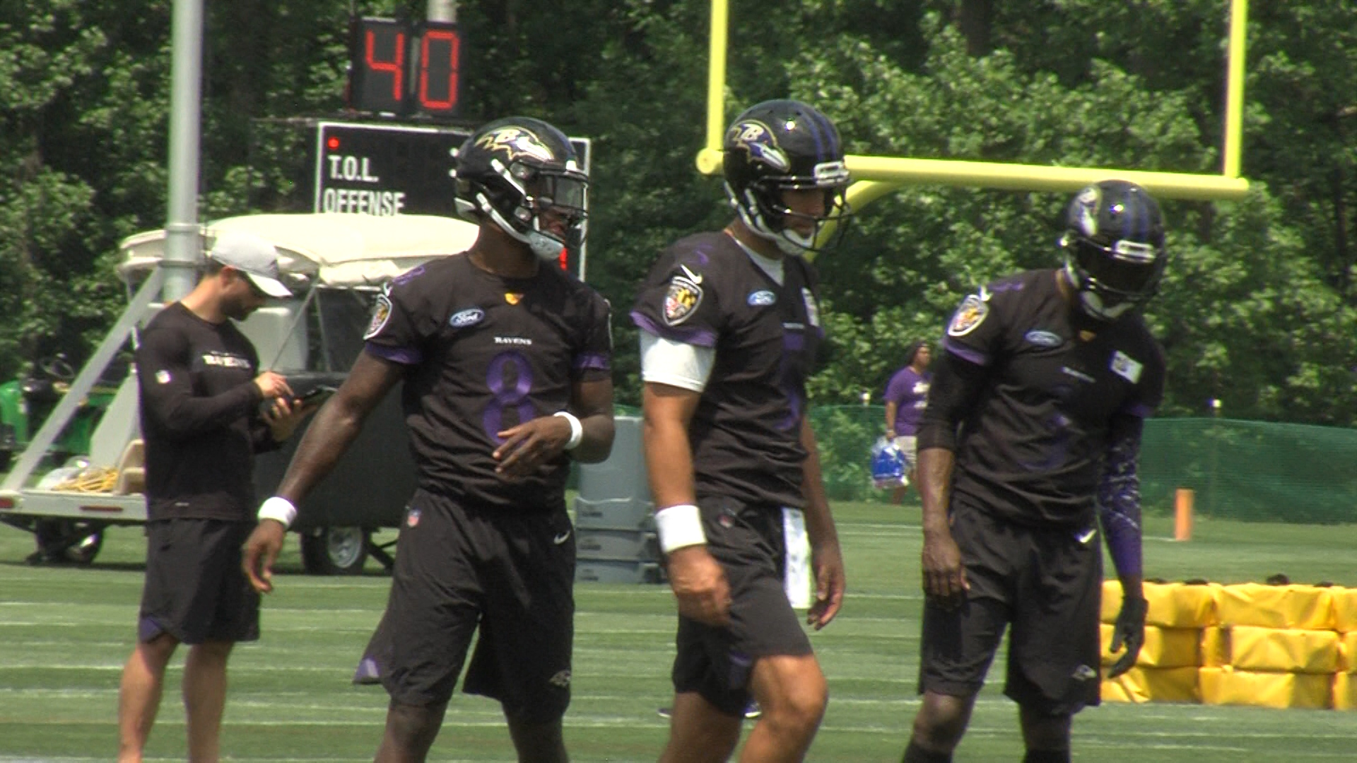 Ravens Face Quarterback Question For Falcons Game