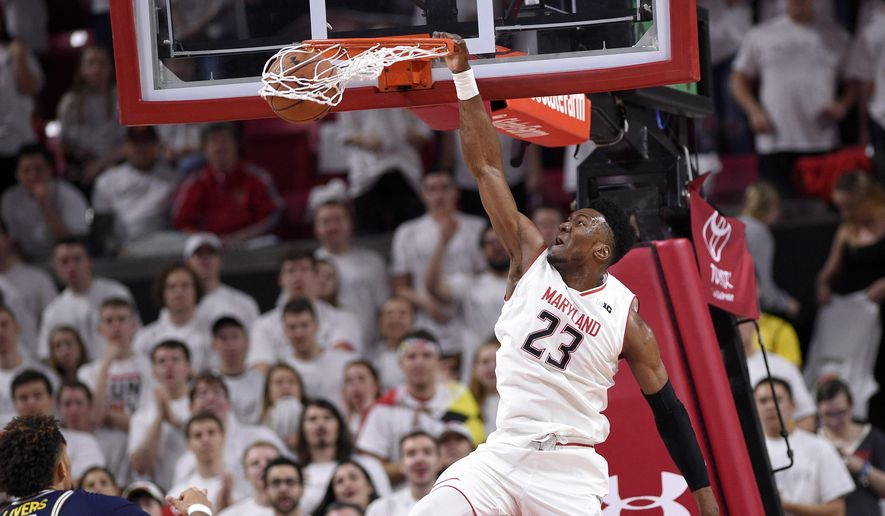 Strong Second Half Propels Terps Over Purdue
