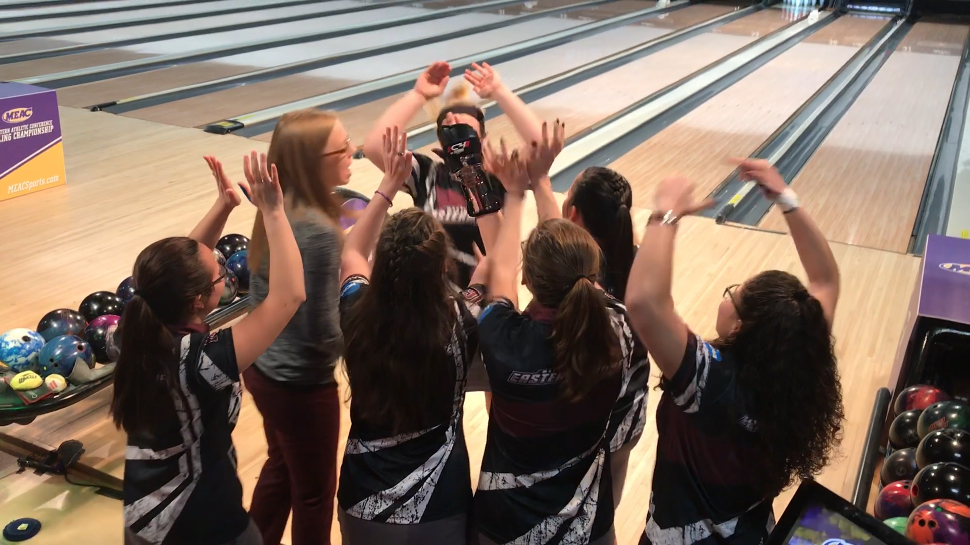 The UMES Hawks Bowling Team Win their 10th MEAC Title!