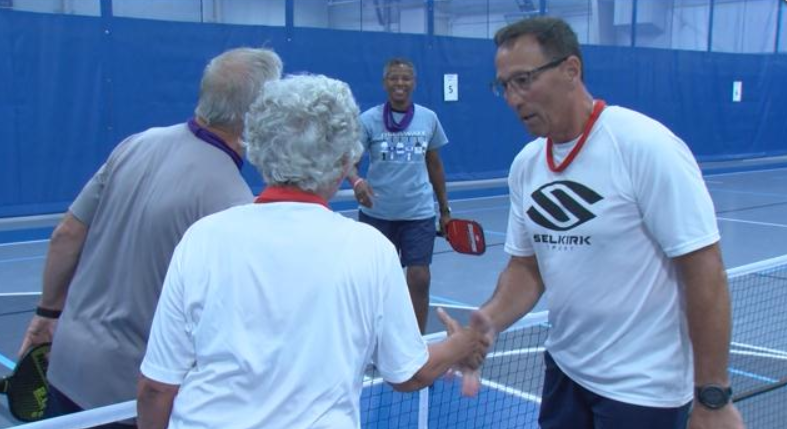 Pickleball Tournament Raises Money for Charity