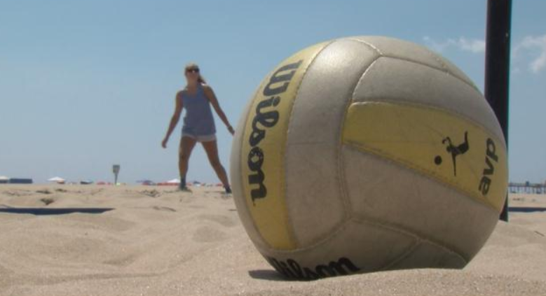 A Sandy Scholarship: Rachel Ehlers is Dominating Beach Volleyball