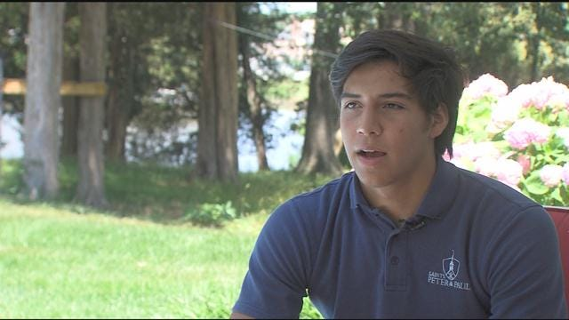 Tyler Christianson– April 2020 Winner – WBOC Mountaire Scholar Athlete of the Month