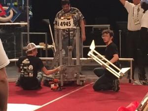 Titanium Wrecks Robotics Team (Courtesy: Paul Suplee)