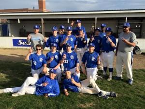 SDHS JV Baseball Team