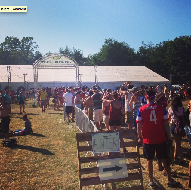 Dogfish Head at Firefly Music Festival (Photo: Dogfish Head)