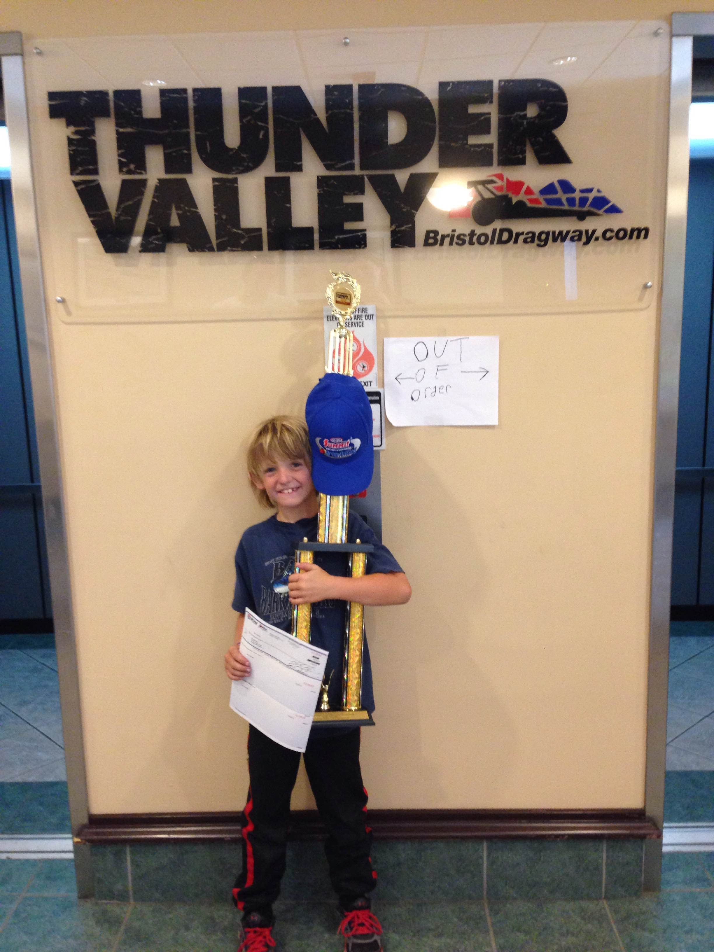 Zach Shirkey - 6-9 year old Eastern Conference Finals Runner up