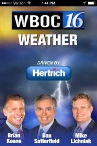 WBOC Weather App
