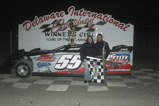 CRATE LATE MODEL BRIAN WALLS JR UNOFFICIAL WINNER