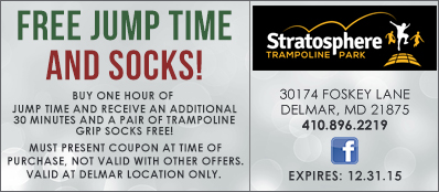Stratosphere Trampoline Park Coupon: Free Jump Time And Socks